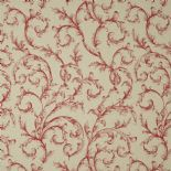 Fontainebleau Fabric Arabesque Reina Lin FONT81798123 or FONT 8179 81 23 By Casadeco